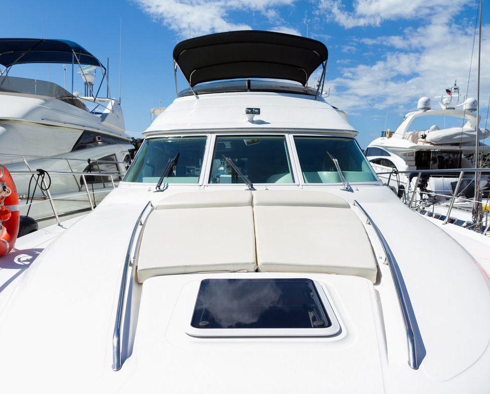 Sea Ray 52 Motor Cruiser Yacht Charter in Cyprus with Latchi Charters