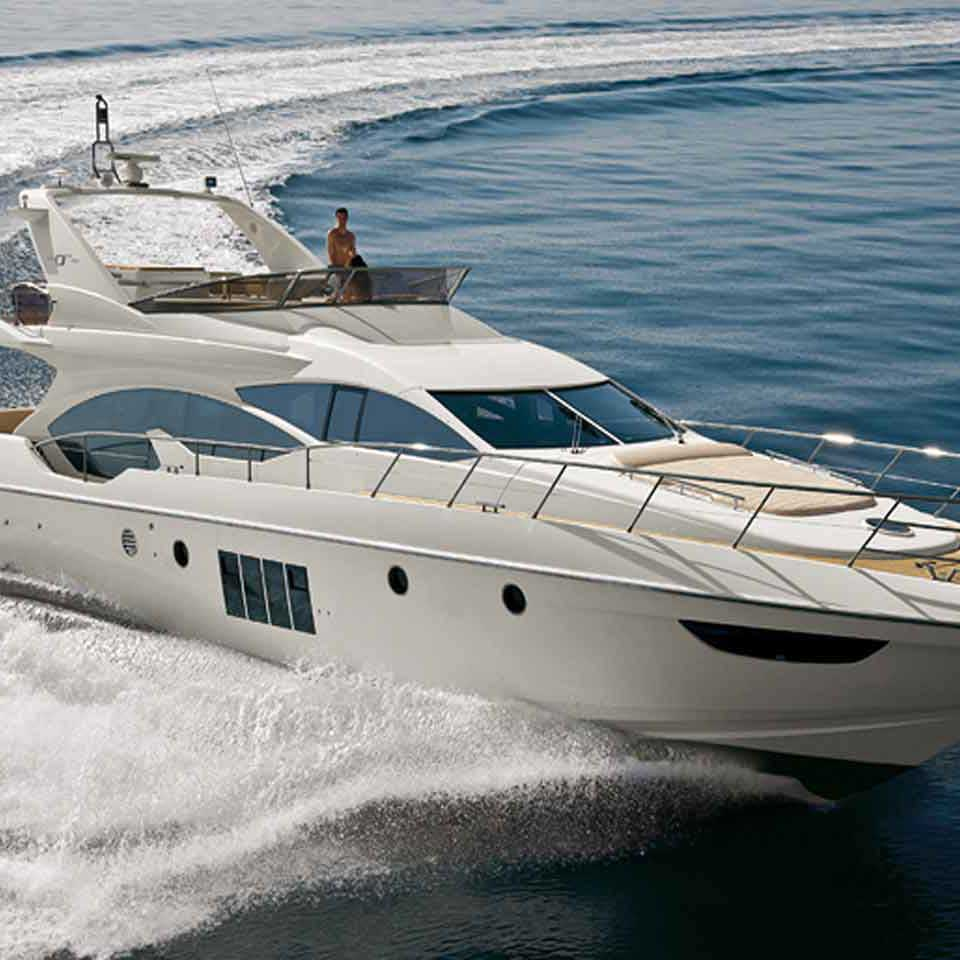 Azimut 68 Motor Cruiser, Yacht charters in Cyprus by Latchi Charters