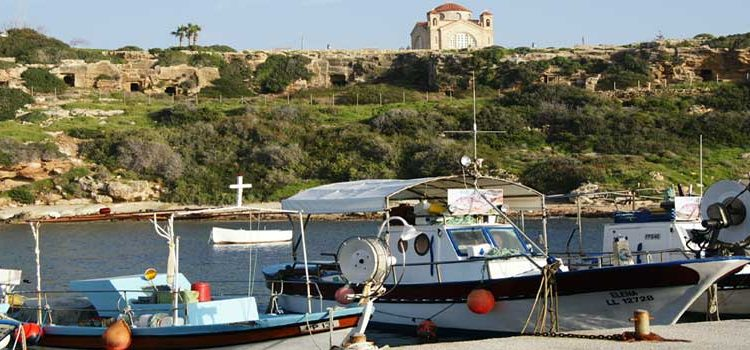 Destinations for Yacht Charters in Cyprus - Agios Georgios, Akamas Peninsula