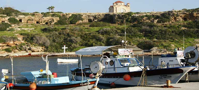 Destinations for Yacht Charters in Cyprus - Agios Georgios, Akamas Peninsula