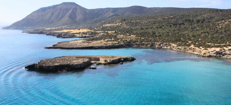 Destinations for Yacht Charters in Cyprus - Blue Lagoon, Akamas Peninsula