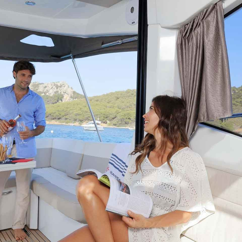 Jeanneau NC33 | Latchi Charters in Cyprus