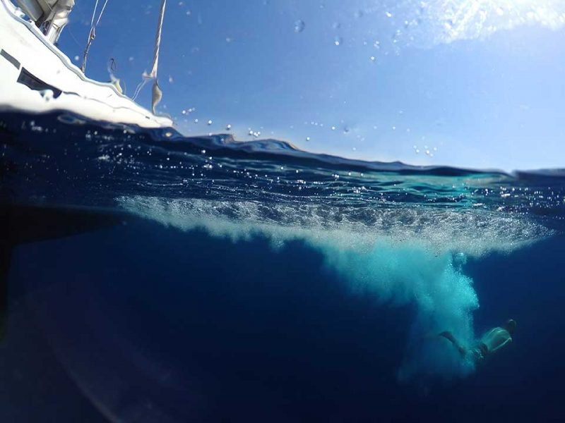 Captain Dave and Blow me Away in Cyprus with Latchi Charters